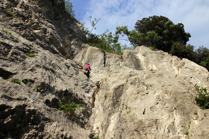 Klettern in Nago
