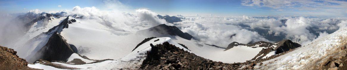 Aussicht vom Similaun (3.606m)