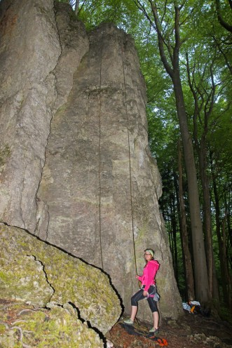 Klettergebiet Lindenstein