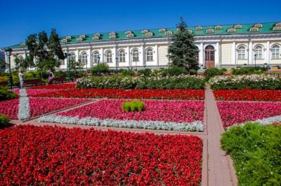 Alexander Garten vor dem Kreml