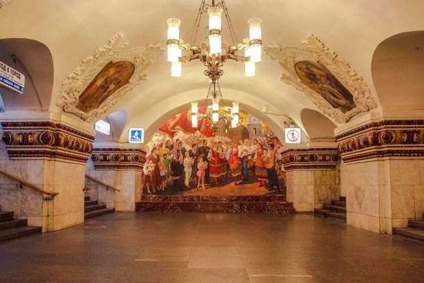 Metrostation Kievskaya