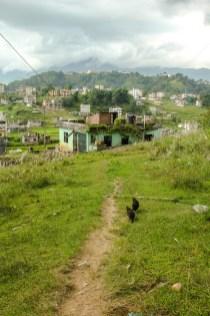 Auf dem Weg zur Kopan Monastery