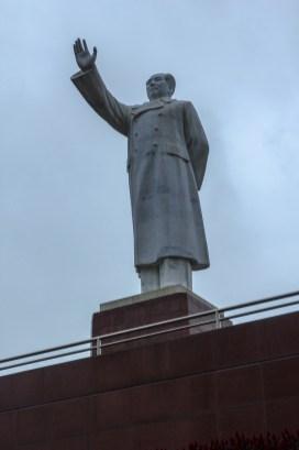 Große Mao Statue auf dem Tianfu Square