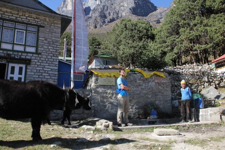 Wasserstelle in Khumjung