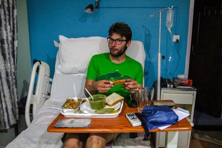 Alex im Krankenhaus