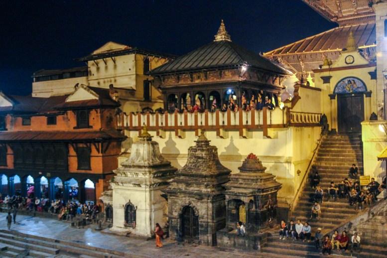Pashupatinath Tempel am Bagmati River