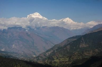 Ausblick vom Deurali Pass