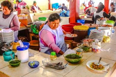 Markt in Urcos