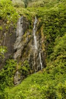 Wasserfälle am Franz Josef Gletscher