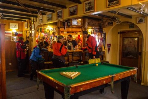 Die südlichste Bar der Welt in der Vernadsky Station