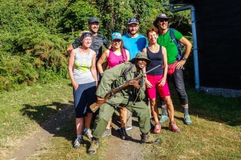Unsere Truppe mit Ranger Raymond