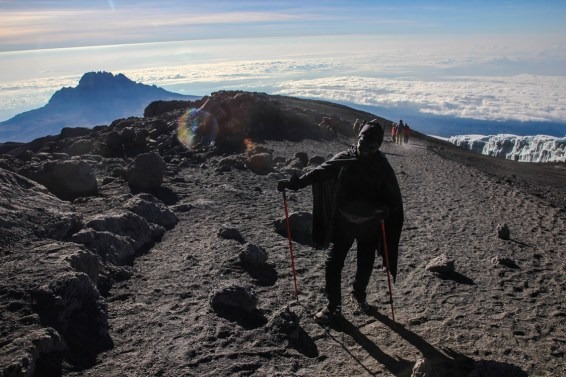 Batman am Kilimanjaro