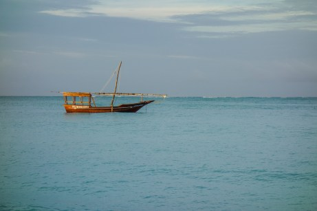 Boot vor Nungwi
