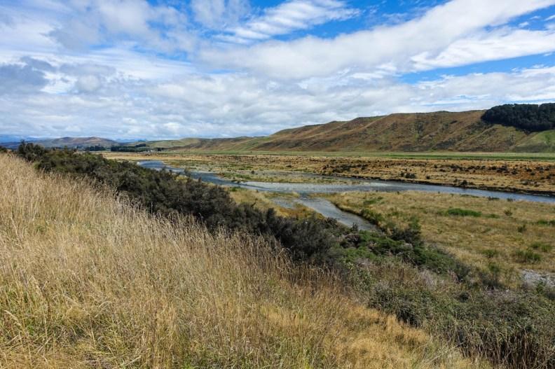12. Tag (23km) - SH94 bis zum Camp am Wairiki River