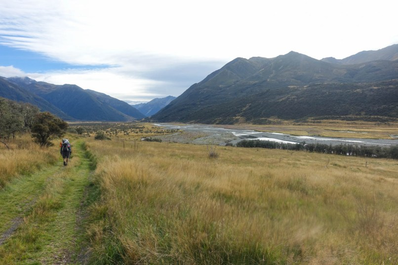 51. Tag (21,6km) - Camp am Waiau River bis Upper Waiau Forks
