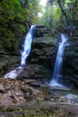 Wasserfall in der Ship Cove