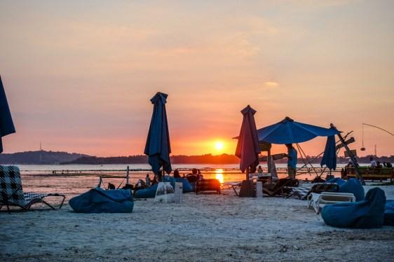 Sonnenuntergang auf Gili Air