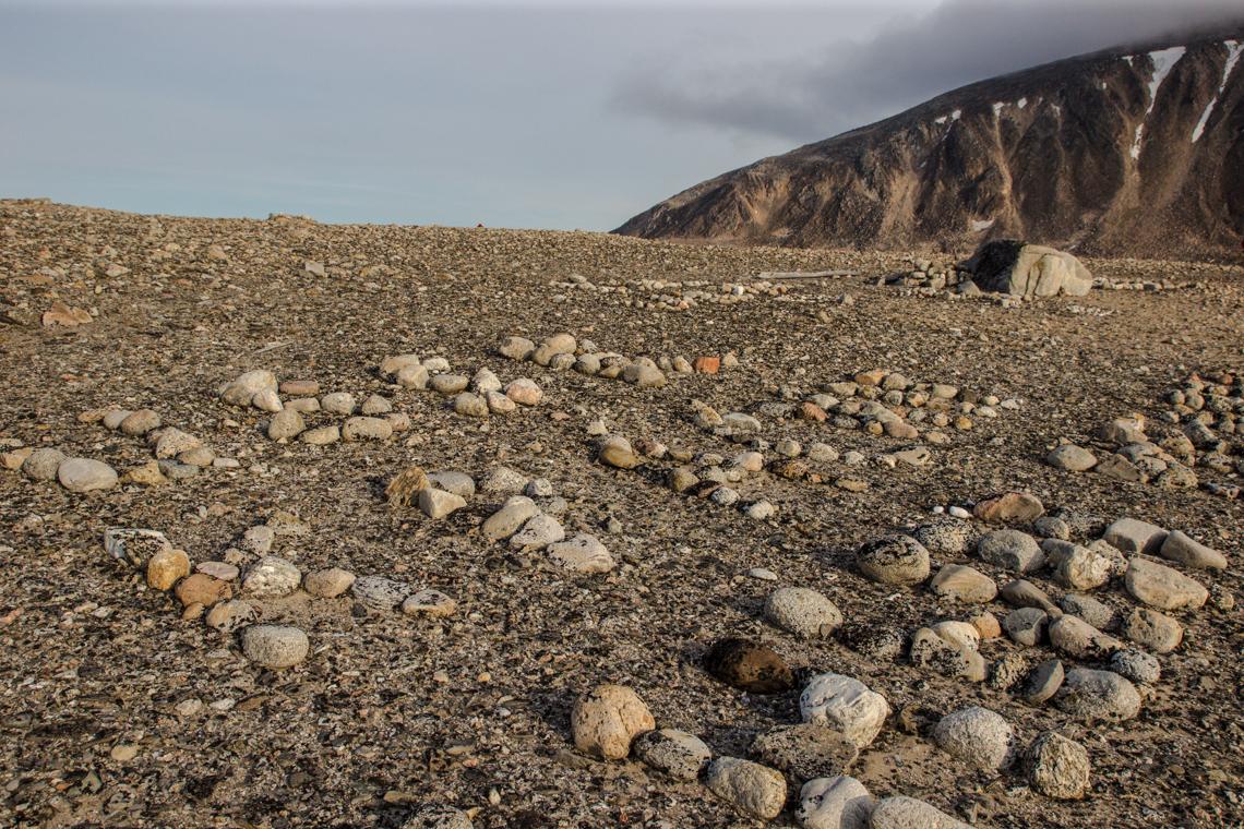 Geoglyphen auf Chermsideøya