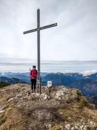 Am Gipfel der Halserspitze
