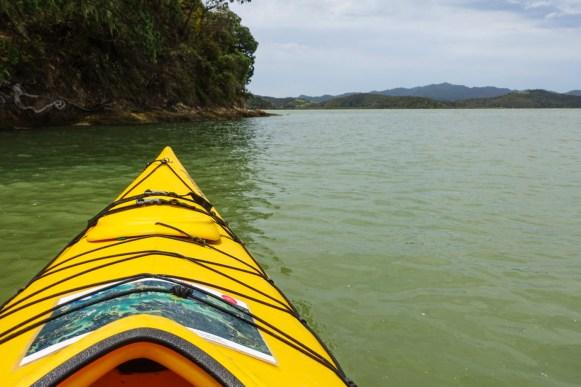Kajakfahrt von Paihia nach Waikare