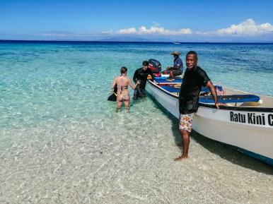 Schnorchelausflug zu einer einsamen Sandinsel