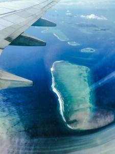 Fidschi von oben