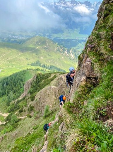 Marokka Klettersteig