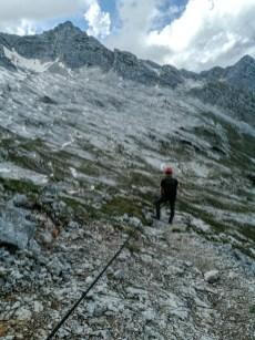Klettersteig Leoganger Nord
