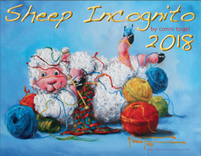 2019 Sheep Incognito Calendar