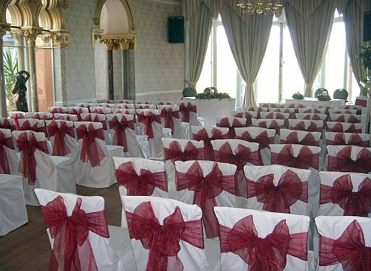 wedding chair covers and sashes office gaming chairs sheer elegance - covers, bows, sashes, candelabras swags