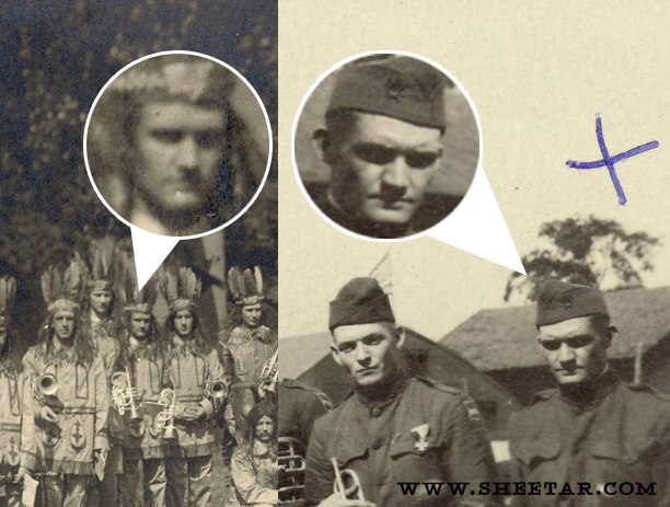Sepia Saturday 242: Fans, Faces, National Costumes, Hidden Meanings (2/5)