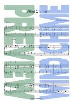 Piano Sheet Music - Wind Chime - Pascal Greenwood
