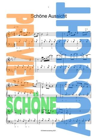 Schöne Aussicht_Piano Solo_Christoph Bellmann_2021