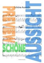 Schöne Aussicht, modernes Vortragsstück für Klavier, Christoph Bellmann