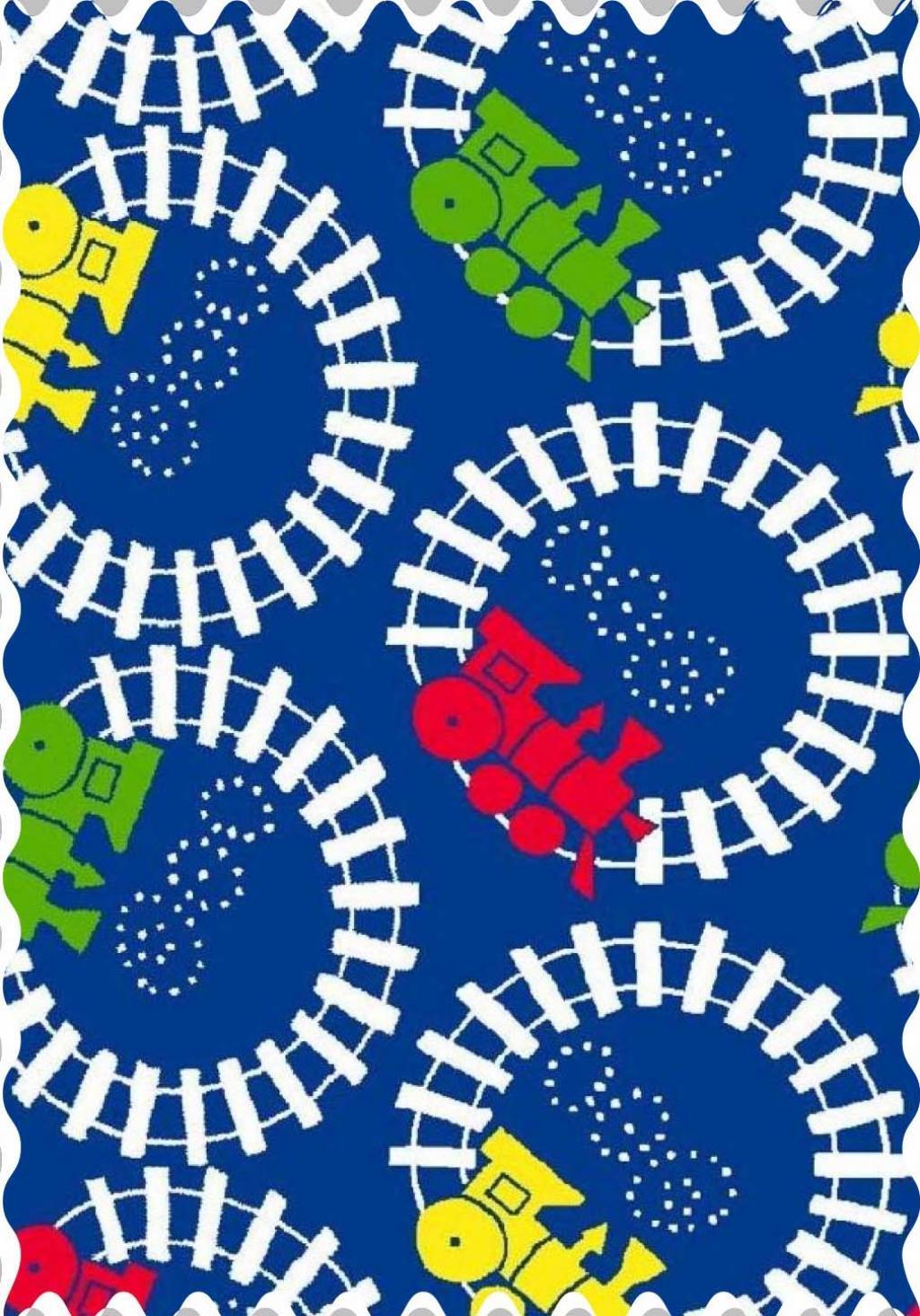 Train Tracks Fabric  Fabric Shop Sheets  Sheetworld