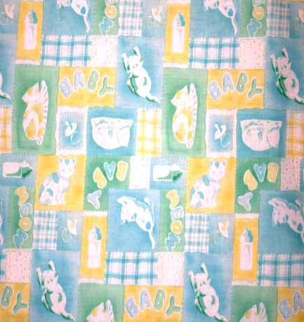Cradle - BABY & Cats Print - Matching Comforter