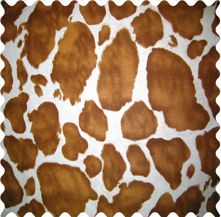 Brown Cow Fabric  Fabric Shop Sheets  Sheetworld