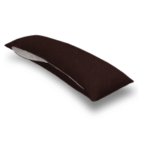Solid Brown Jersey Knit Body Pillow Case | Body Pillow ...