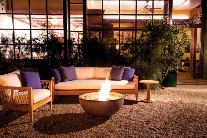 Time for outdoor furniture for Brown jordan fires
