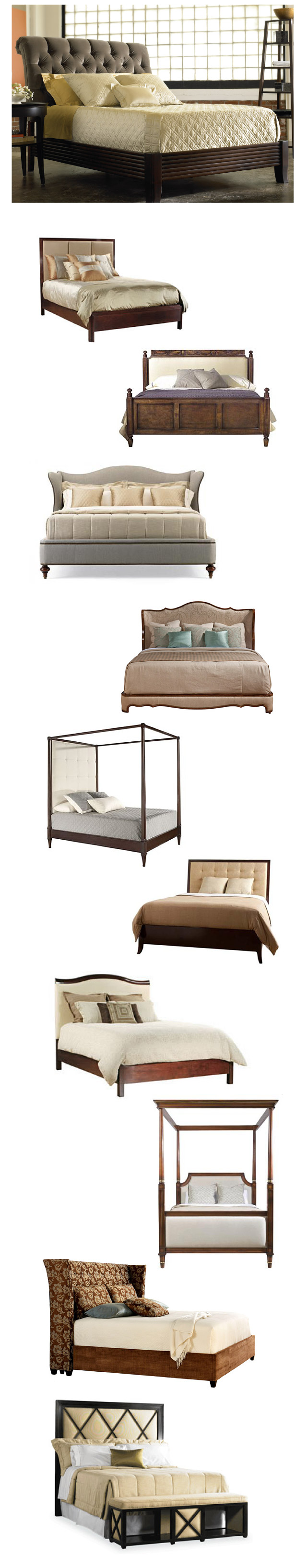 Our Favorite Upholstered Beds!