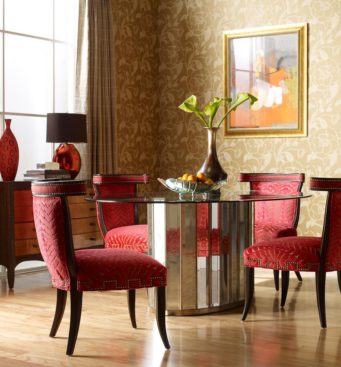 ferguson copeland leather sofa camping world table dining room furniture