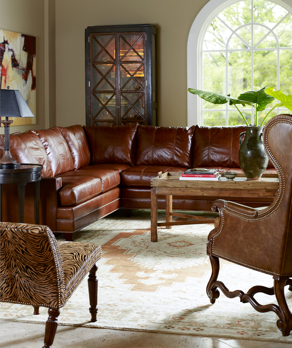Havenly we're ready to set the record straight on white couches. Living Room Leather Furniture