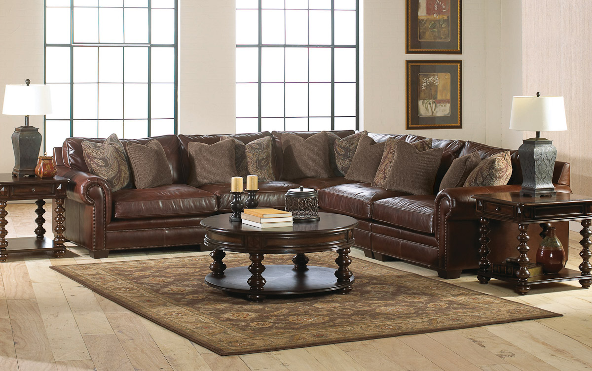 stickley furniture leather sofas how to make sofa slipcovers living room