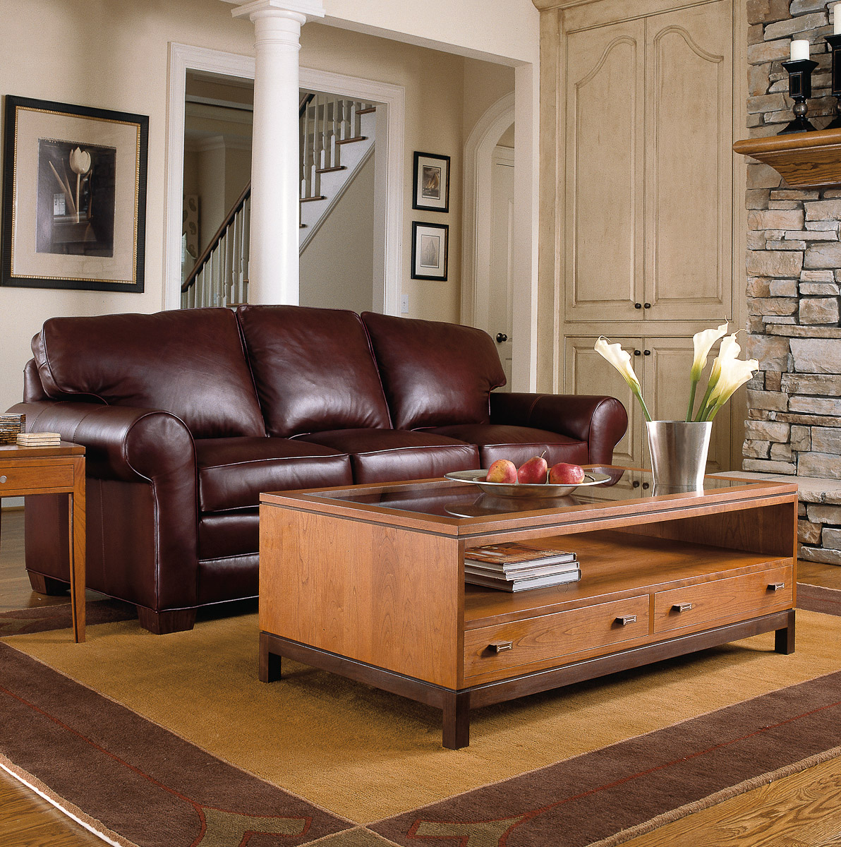 stickley furniture leather sofas murphy sofa bed india mission thesofa