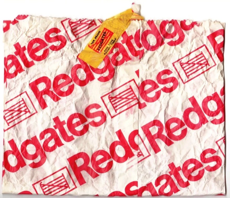 Paper Bag from Redgates Toy Shop