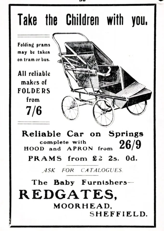 Advert for Redgates, Moorhead, 1929