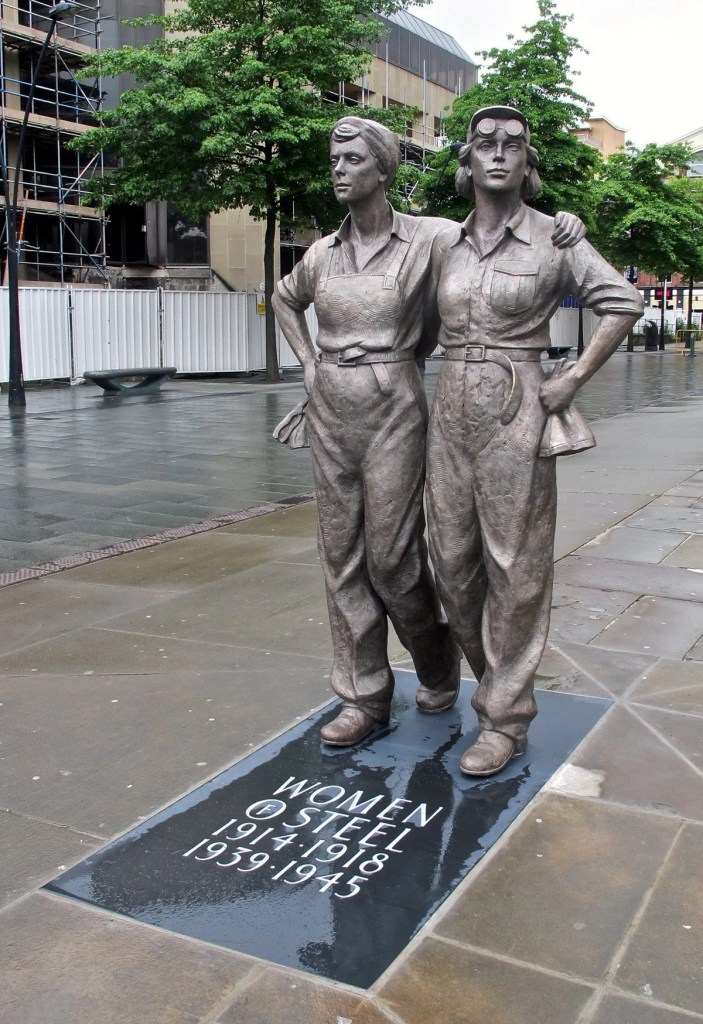 The Women of Steel Statue