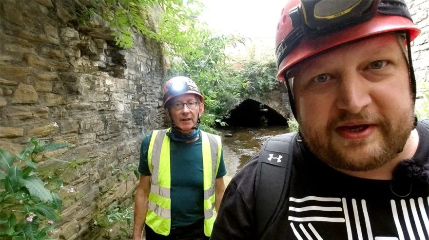 Chair of Sheffield's Waterways Strategy Group Simon Ogden helps us explore Victorian culverts in Sheffield