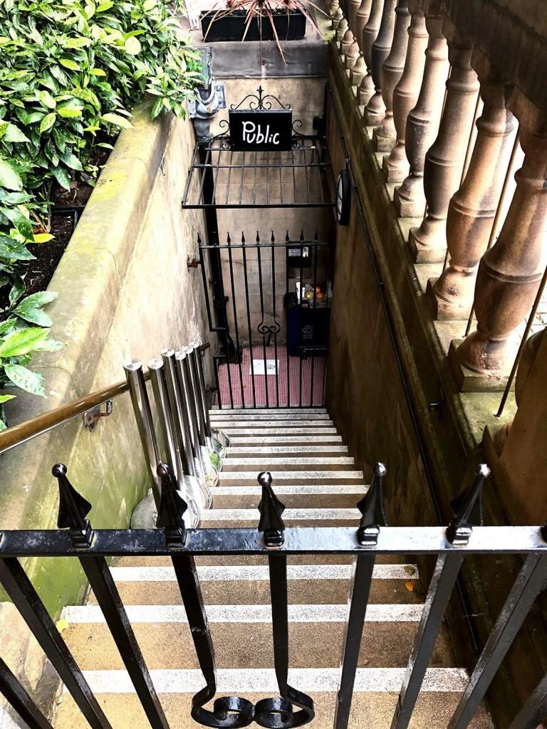 Public Bar, beneath Sheffield Town Hall