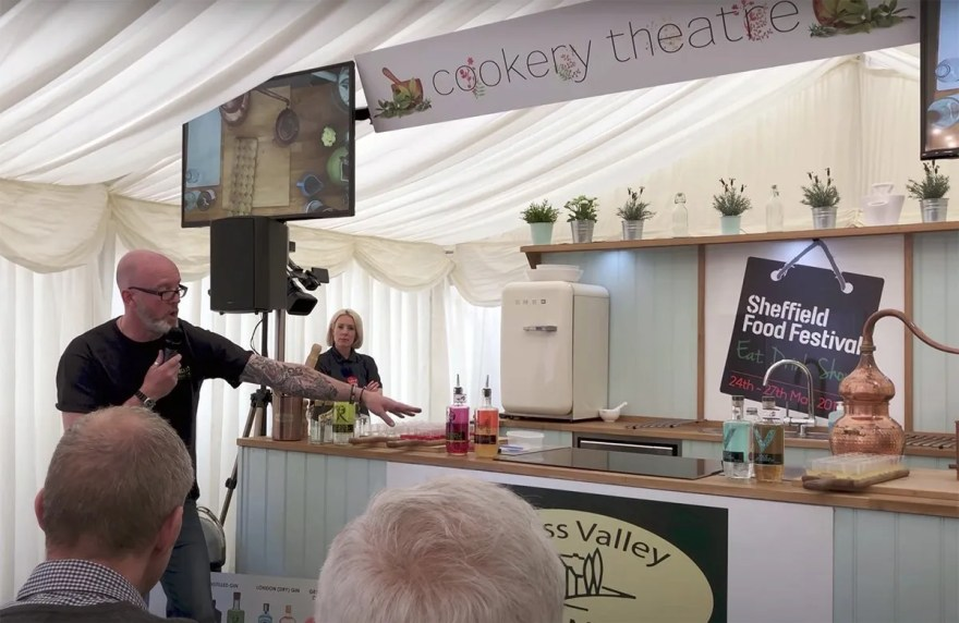 Locksley Distilling in the Cookery Theatre